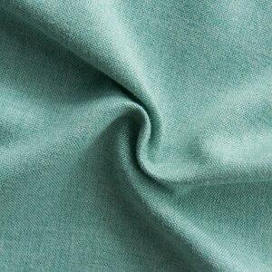 Image 5 - Cortinas opacas de Color turquesa para dormitorio, decoración de oficina, moderna, para ventana, sala de estar