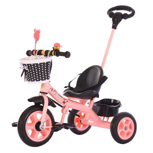 e72063e7537 Lovely Children Baby Tricycle 1-5 years old Baby 3 Wheels Toys Baby Car  Portable