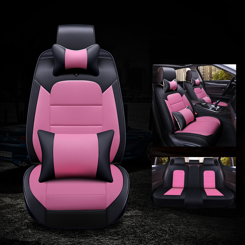 Kalaisike Leather Universal Auto Seat Covers For Buick All