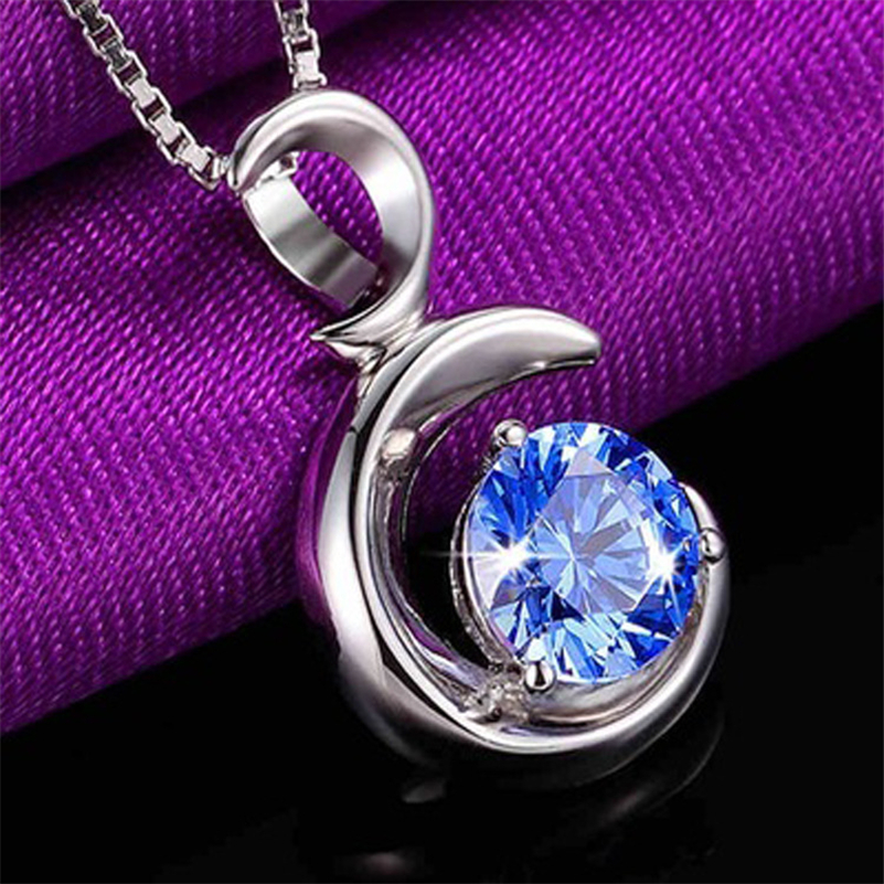 Natural Stone Sapphire Pendants S925 Sliver Amulet Healing Pendant Pendulums Peridot Bizuterias Chalcedony Bijoux Or Gemstone