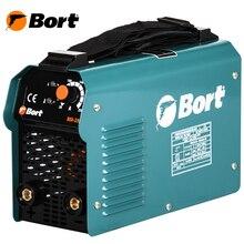 Аппарат сварочный инверторный Bort BSI-250H (Диапазон тока 10-220А, мощность 7100Вт, электроды толщиной до 5 мм, сварачная маска)
