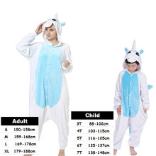 New Kigurumi Adult Animal Stitch Unicorn Totoro Panda Pikachu Pajamas Onesies Halloween Cosplay Costume For Girls Boys Pijama цена 2017