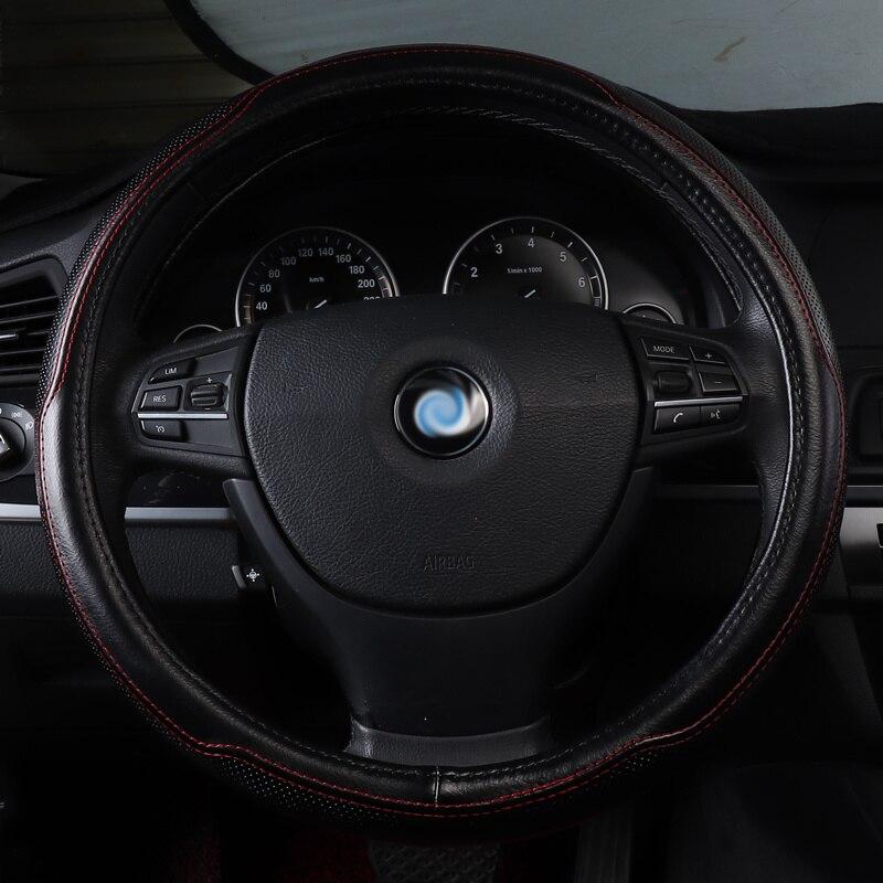 Housse de volant de voiture en cuir véritable accessoires antidérapants pour BMW X4 F26 X5 E70 F15 e53 X6 E71 E72 F16 brillance faw v5