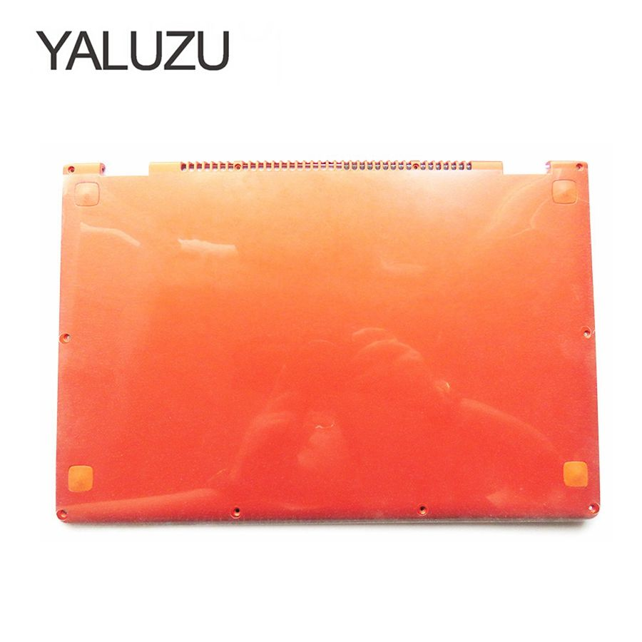YALUZU 98% New Laptop Replace Cover For Lenovo YOGA 13 orange D shell 11S30500246 Laptop Bottom Base Cover lower case original new 15 6laptop lower case for hp omen 15 5000 series bottom cover base shell 788598 001 empty palmrest 788603 001