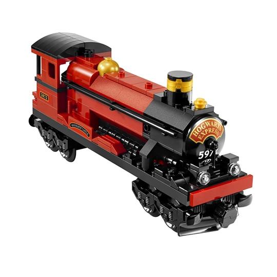 Jeu de construction générique type Harry Potter Train Poudlard Express 4841