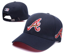 e84fef32cd8 MLB Classic Unisex Atlanta Braves Adjustable Snapback Baseball Caps