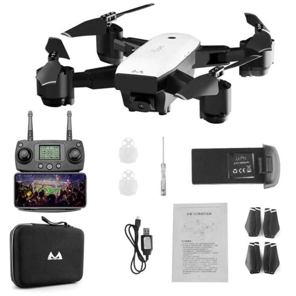 SMRC S20 6 Essieux Gyro Mini GPS Drone Avec 110 Degrés Grand Angle Caméra 2.4g Maintien D'altitude RC Quadcopter portable RC Modèle