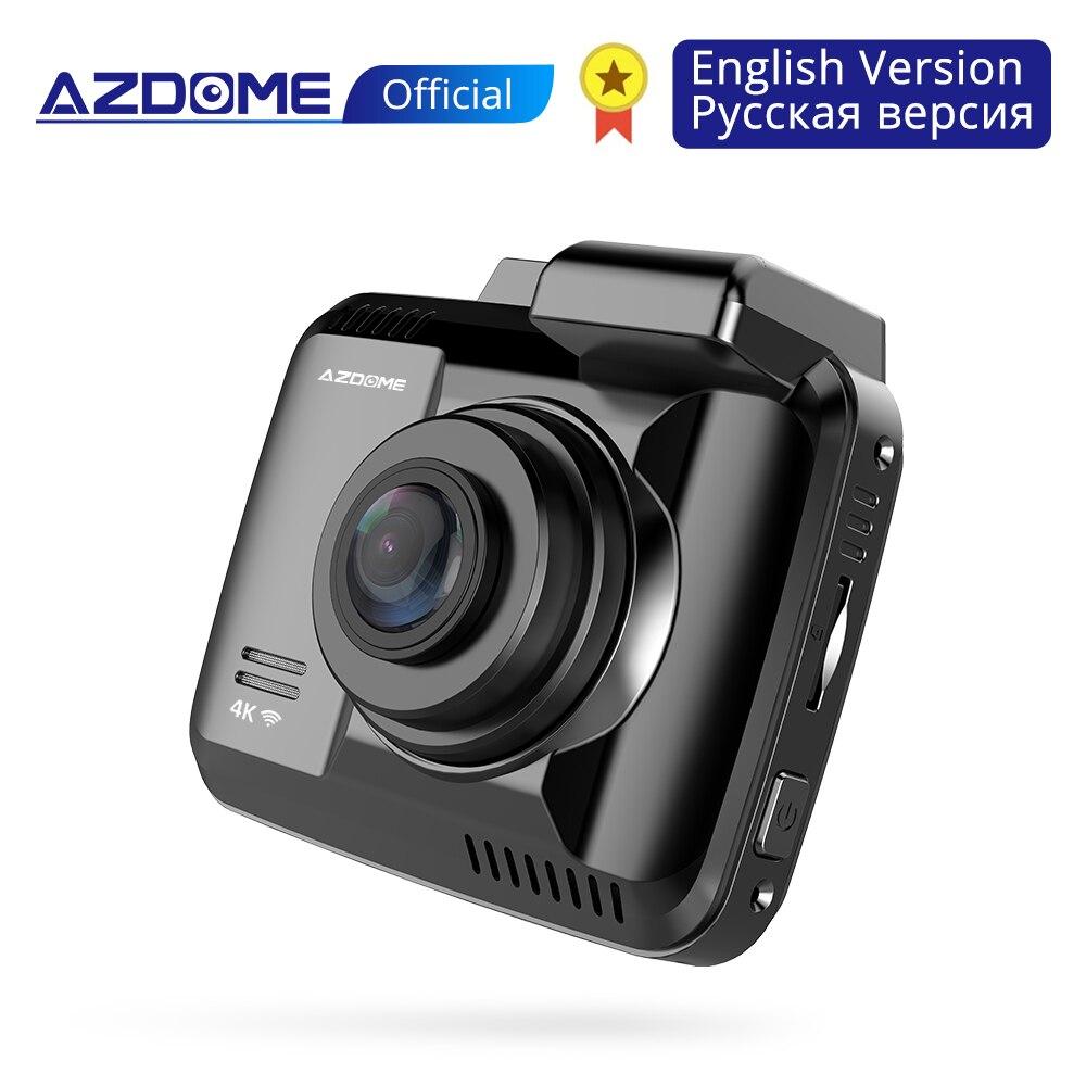 AZDOME GS63H Car Dash Cam 4K 2160P Dash Camera Dual Lens Built in GPS DVR Recorder