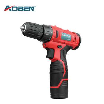 AOBEN 12 V Mini Electric Screwdriver Cordless Drill Wireless Power Driver 2 Speed Electric Drill Lithium-Ion Battery 3/8-Inch