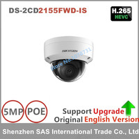 Hikvision Original English Version Surveillance Camera DS 2CD2155FWD IS 5MP Dome IP Camera H 265 IP67