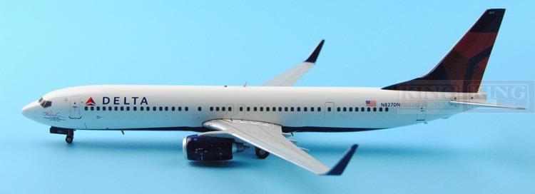 GeminiJets GJDAL1449 America B737-900/w 1:400 Delta commercial jetliners plane model hobby