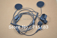 Freeship motorcycle helmet headset for Baofeng UV B5 UV B6 UV 5R UV 3R Plus Kenwood