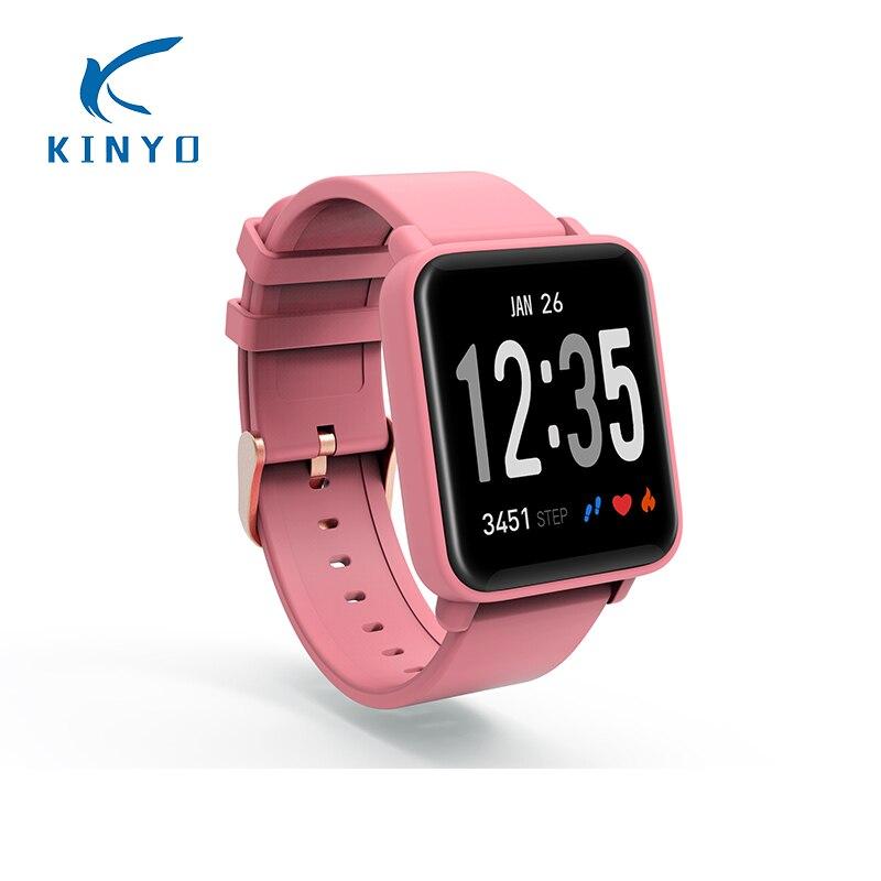 Mâle Femelle Montre Intelligente pression artérielle surveillance de la fréquence Cardiaque Bluetooth musique photos prendre intelligents sport bracelet pk mi bande 2