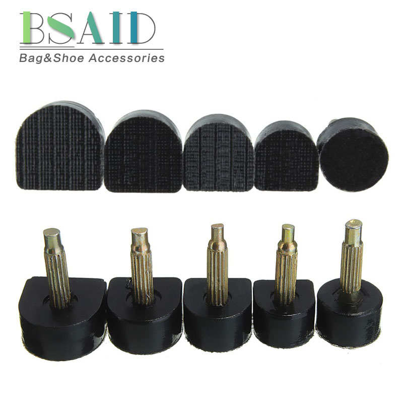 BSAID 60pcs/lot Women's High Heel Tips Taps Dowel Lifts Replacement Heel Stoppers Protector Lady Stiletto Shoe Heels Repair Tips