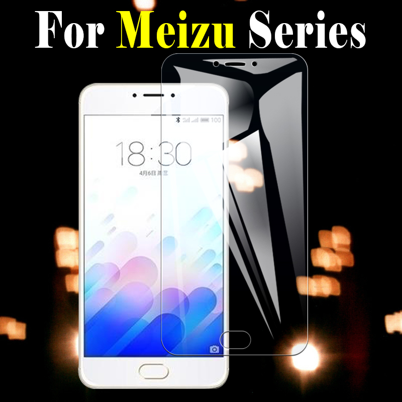 Protective glass on for meizu m2 m3 m5 m6 note tempered glas film maisie meuzu meizy tremp m 2 3 5 6 not screen protector mezu image