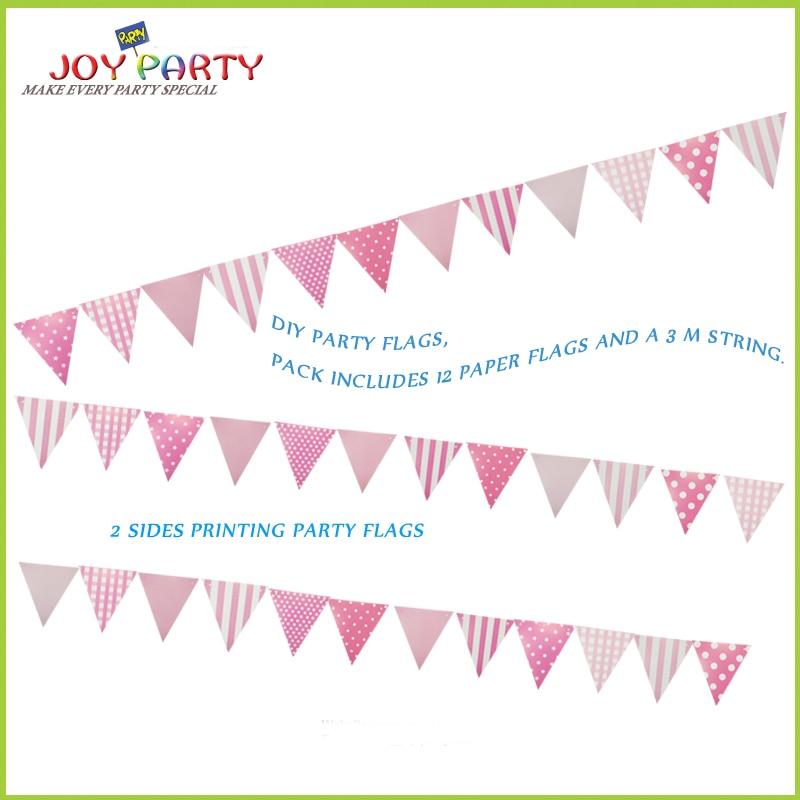 Placă de hârtie imprimată pe două fețe Semnul de marcă de 12 - Produse pentru sărbători și petreceri