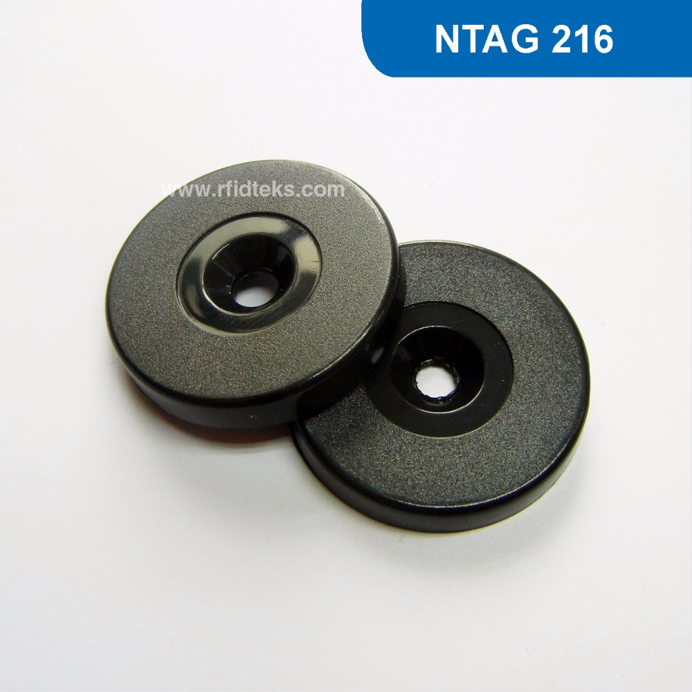 RT30 Dia 30mm ABS RFID Token Tag, NFC Proximity Smart TAG  13.56MHZ 888BYTES R/W with NTAG 216 Chip hw v7 020 v2 23 ktag master version k tag hardware v6 070 v2 13 k tag 7 020 ecu programming tool use online no token dhl free