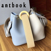 ANTBOOK Women Handbag High Quality Pu Leather Girls Shoulder Bags Buckets Women Messenger Crossbody Bag For