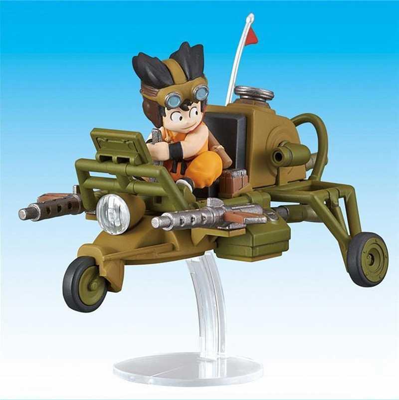 Original BANDAI Dragon Ball Z DBZ Goku Coleção Mecha Aeronaves 04 PVC Action Figure Bonecas Brinquedos Do Miúdo Figurals