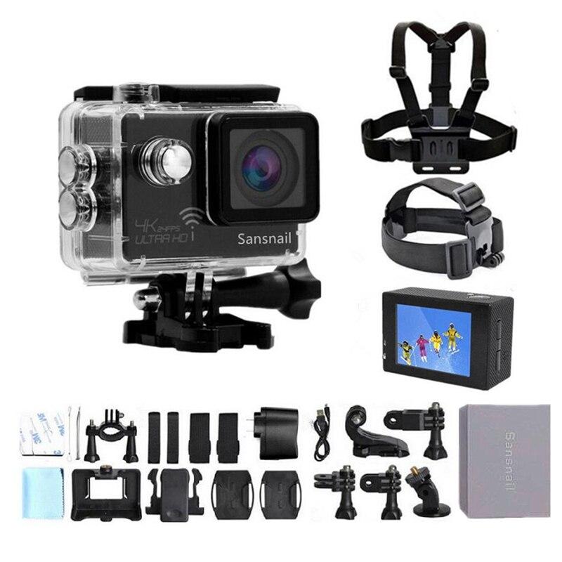 Caméra d'action sanescargot HD 4 K 1080 P 2.0