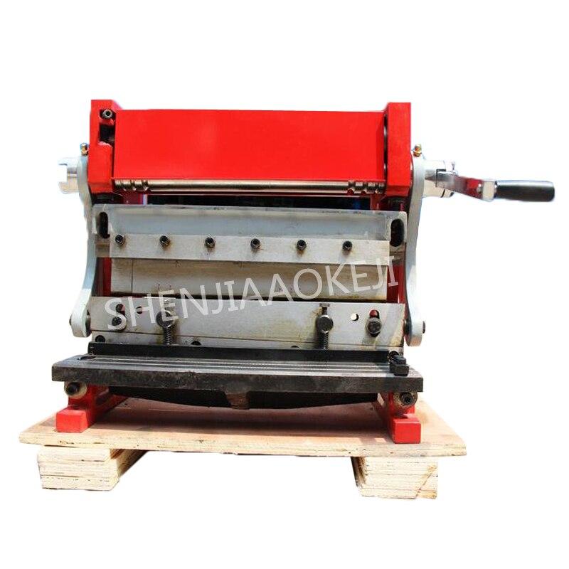 HSBR-305 Manual shearing board machine Bending machine 350mm Three-in-one copper iron aluminum plate multi-function machine 1pc 1pc new manual sheet metal iron aluminum copper plate bending machine