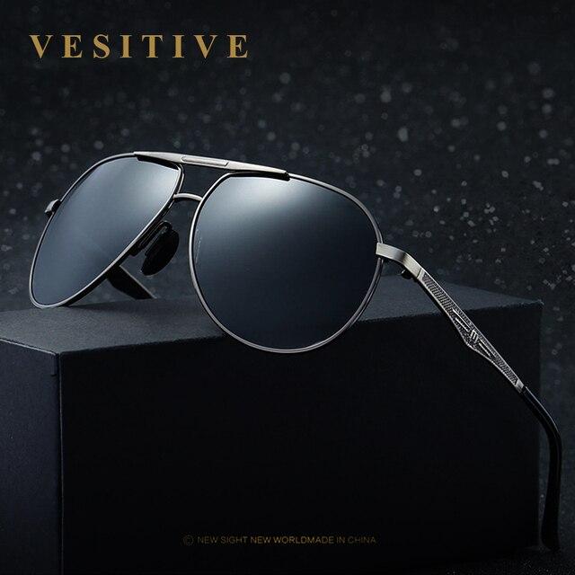 Hot Célèbre Marque Hommes Polarisées UV400 lunettes de Soleil Pour la  Conduite De Voiture de Sport 3960a0d36ad5