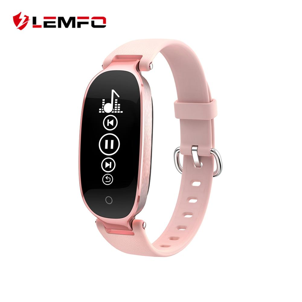 S3 Fashion Smart Band Bracelet Girl Women Heart Rate Monitor Wrist Smartband Lady Female Fitness Tracker Wristband
