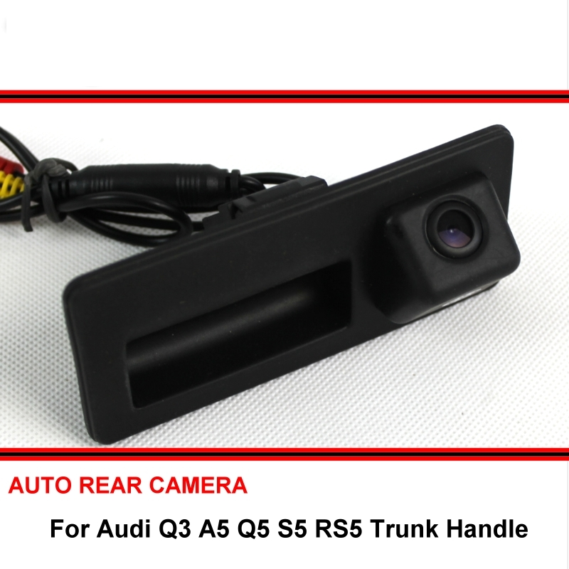 For <font><b>Audi</b></font> <font><b>Q3</b></font> A5 Q5 S5 RS5 2010~2015 Car Reversing Parking Rear View <font><b>Camera</b></font> For SONY CCD Trunk Handle image