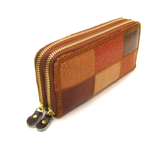 Vintage Leather Wallets Women Wallet