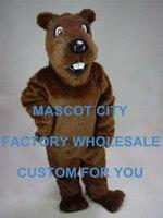 Forest Animal Theme Costume Gopher Mascot Costume Suit Halloween Prop Adult Cartoon Mascotte Fancy Dress SW861