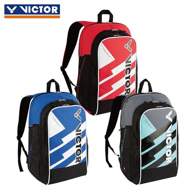 Victor Badminton Bag Portable Rackets Racquets Squash Shuttle Pack Tennis Backpack Racquet