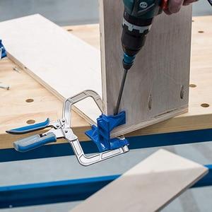Image 3 - 90 grad Rechtwinklig Ecke Klemme Holzbearbeitung Spann Hand Tool Set 90 Grad Winkel Schreiner Klemme Rechts Winkel Halter