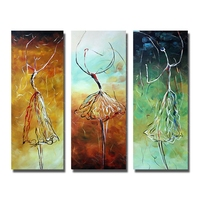 Abstract portrait dancing oil painting sexy dude ballet dancer artwork painting nude sex oil painting free shipping