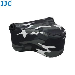 Image 2 - JJC Mềm Máy Ảnh Không Gương Lật Túi Nhỏ Neoprene Chống Nước Túi Cho Sony A6100 A6600 A6500 A6300 A6000 Canon M10 G3 X SX520
