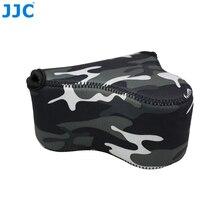 JJC мягкие беззеркальных Камера сумка маленькая неопрен Водонепроницаемый чехол для sony A6500/A6300/A6000/NEX-3N Canon M10/G3 X/SX520