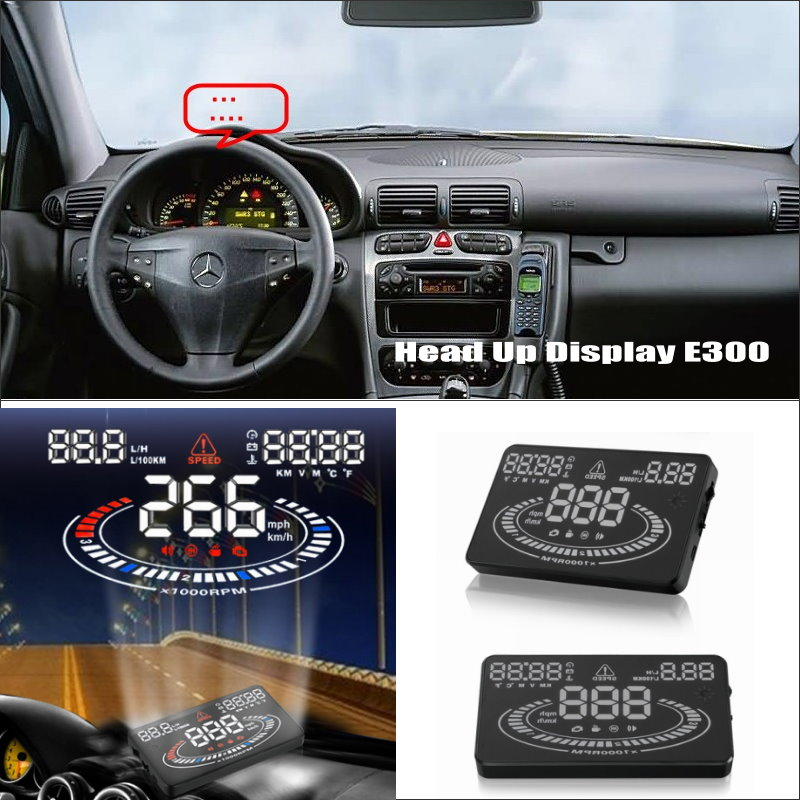 vehicle travel message Projector Screen For Mercedes Benz C Class W203 2001~2007-Reflect to windshield car's HUD head up display car hud head up display for mercedes benz sprinter reflect to windshield car s hud head up display screen projector