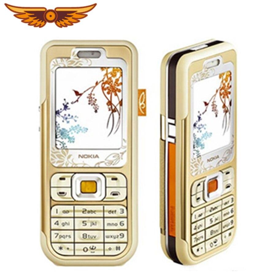 Original Unlocked Nokia 7360 GSM FM Radio Mp3 Player 1.9 Inches 760 mAh  Cheap Old Cellphone