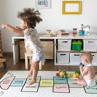 Educational Sport Crawling Mats Blanket Children Play Mats Baby Hopscotch Gym Mat Tapete Infant Play Mat for Kids Game Rug