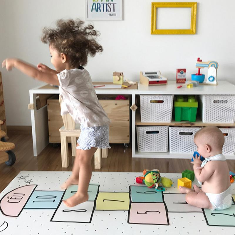 Sport éducatif ramper tapis couverture enfants jouer tapis bébé marelle Gym tapis Tapete infantile tapis de jeu pour enfants tapis de jeu