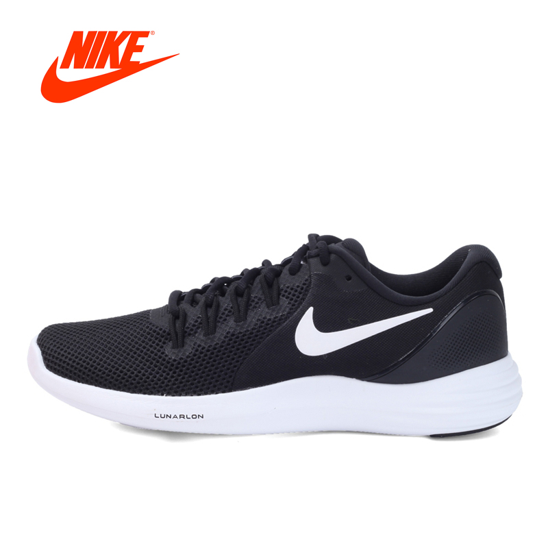 Original New Arrival Official NIKE LUNAR APPARENT Men's Running Shoes Sneakers official new arrival original nike lunar tempo 2 men s light running shoes sneakers