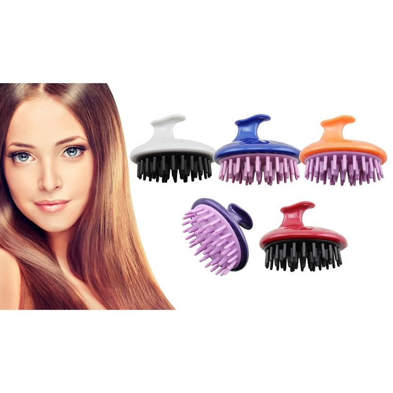 Hair Massager Brush Scalp Comb Wet Hair Salon Hairdressing Tools