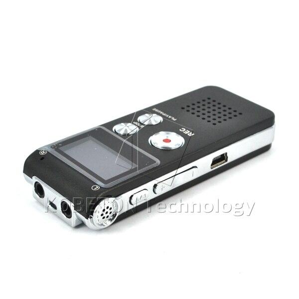 Kebidumei Цифровой диктофон ручка диктофон 8 ГБ HD уровень шума Интеллектуальный запись голосовой активации цифровой Аудио Диктофон
