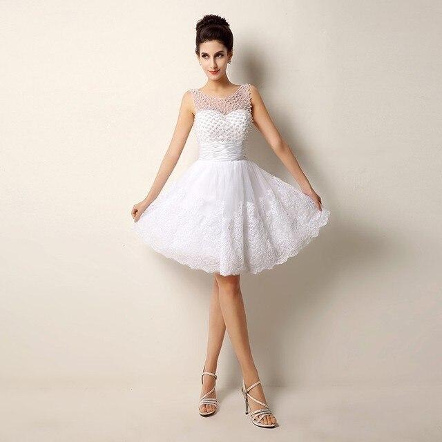 نتيجة بحث الصور عن عروسة بفستان زفاف قصير