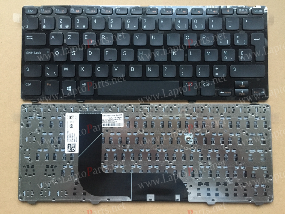 AZERTY Layout BE Belgique Keyboard For DELL 5423 Inspiron N411Z 13Z-5323 14z-5423 3360 1618l 5323 Vostro V3360 keyboard