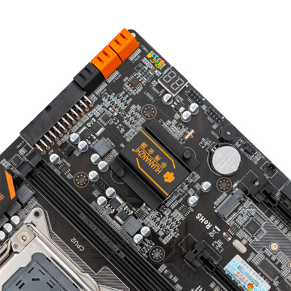 Image 5 - HUANAN ZHI X79 4D Dual CPU Motherboard For Intel X79 LGA 2011 E5 2680V2 DDR3 1333/1600/1866MHz 128GB PCI E SATA3 USB3.0 E ATX-in Motherboards from Computer & Office
