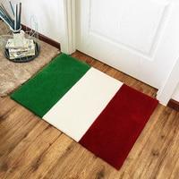 Fashion French Italian Flag Carpet Bedroom Kids Play Mat Soft Acrylic Big Area Rugs Carpet for Living Room Custom Pattern