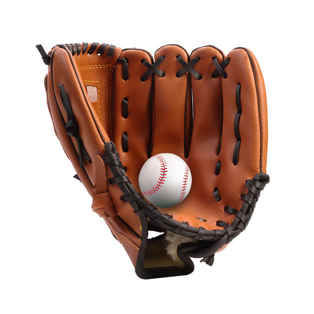 Outdoor Sports Three colors Baseball Glove  Softball Practice Equipment Size 10.5/11.5/12.5 Left Hand for Adult Man Woman Train 3