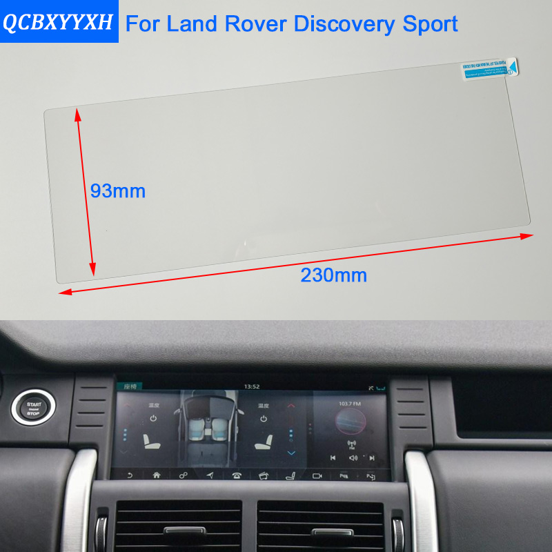 Car Styling 10 Inch font b GPS b font Navigation Screen Steel Protective Film For Land