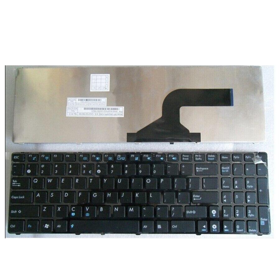 NOUS POUR ASUS G72 X53 X54H k53 A53 A52J K52N G51V G53 N53T X55VD N73S N73J P53S X53S X75V B53J UL50 clavier Noir Nouveau anglais