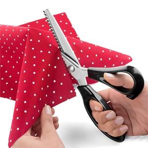 Ножницы из нержавеющей стали, комфортные ручки, профессиональные ножницы для шитья
